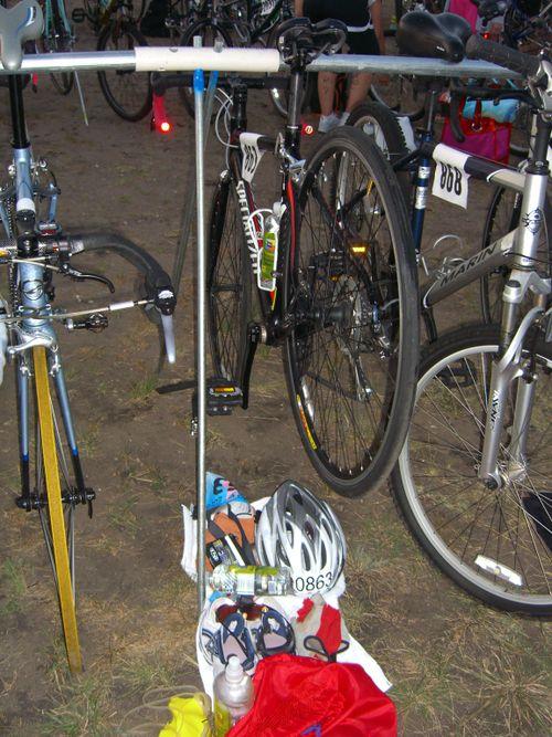 Danskin 2009 bike setup